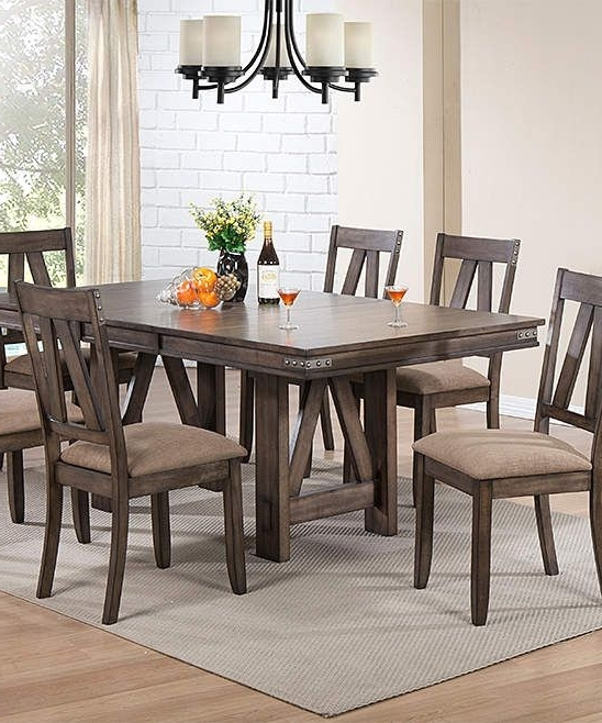 Products Intended For Preferred Candice Ii 7 Piece Extension Rectangle Dining Sets (View 10 of 20)