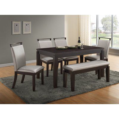 Products With 2018 Logan 6 Piece Dining Sets (View 16 of 20)