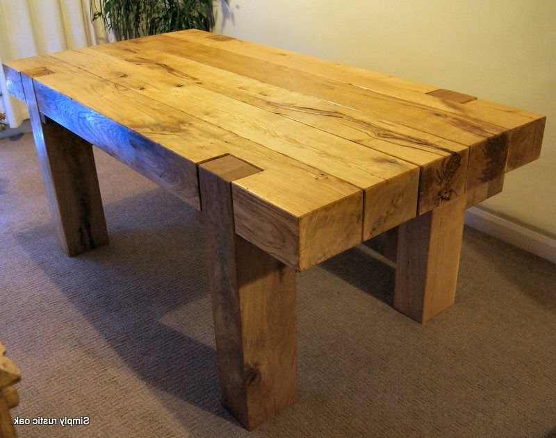Projects To Try Regarding Rustic Oak Dining Tables (View 14 of 20)