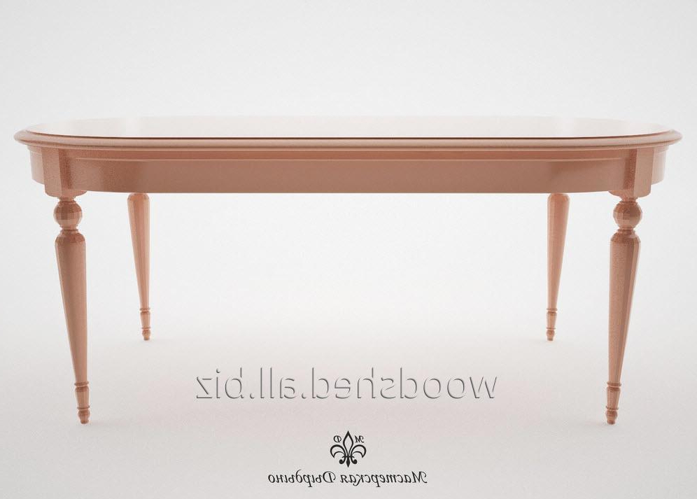 Provence Dining Tables Pertaining To Current Dining Table For The Hall Provence Of 1900 Mm Buy In Kiev (View 13 of 20)