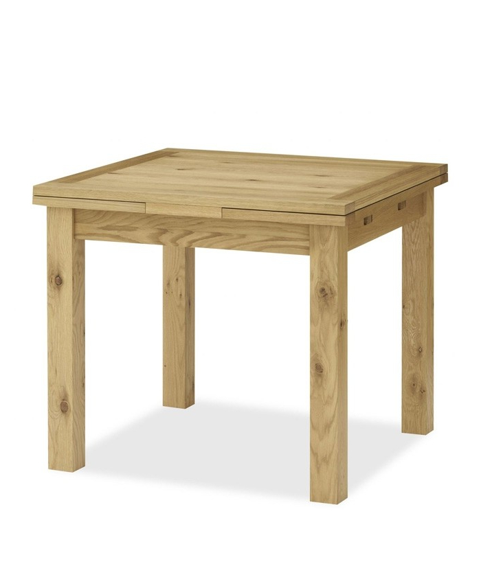 Provence Dining Tables Throughout Well Known Provence Oak 2 4 Seater Draw Leaf Extending Dining Table – Brand (View 4 of 20)