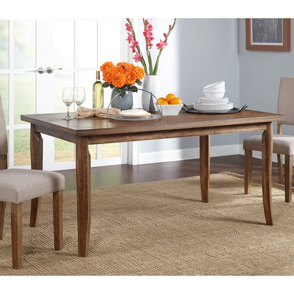 Provence Dining Tables With Well Liked Shop Simple Living Provence Dining Table – Brown – On Sale – Free (View 5 of 20)