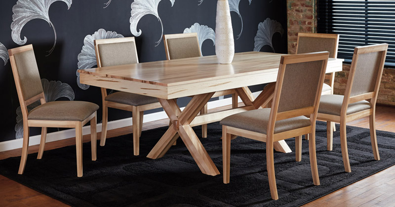 Quality Canadian Wood Furniture: Dining Room Pertaining To Fashionable Laurent 5 Piece Round Dining Sets With Wood Chairs (View 10 of 20)