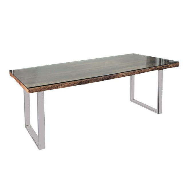 Railway Sleeper Dining Table Regarding Well Known Railway Dining Tables (View 2 of 20)