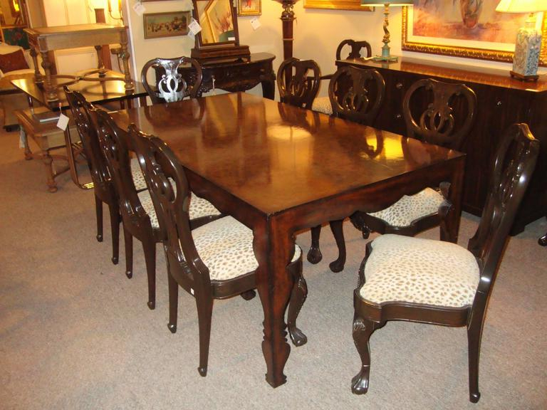 Ralph Lauren Dining Table Dining Tableej Victor For Sale At 1Stdibs Within 2017 Victor Dining Tables (View 13 of 20)