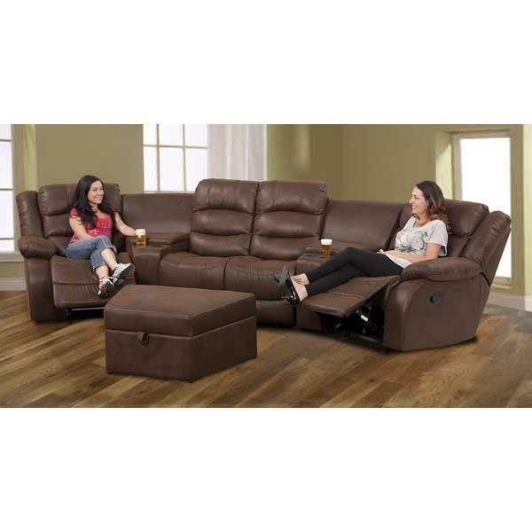 Ranger 5Pc Reclining Sectional 1A 261 5Pc Cambridge Lr Rr C Al (View 12 of 20)