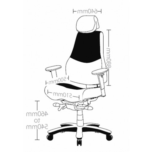 Ranger Side Chairs For Well Known Ranger Office Chair 24 Hour Multi Shift Seating Heavy Duty 160Kg (View 14 of 20)