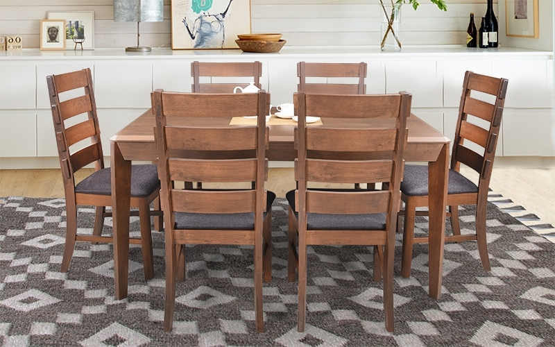 Ranger Side Chairs With Regard To Recent Buy Royaloak Ranger 6 Seater Dining Set With Cushioned Chairs (View 5 of 20)