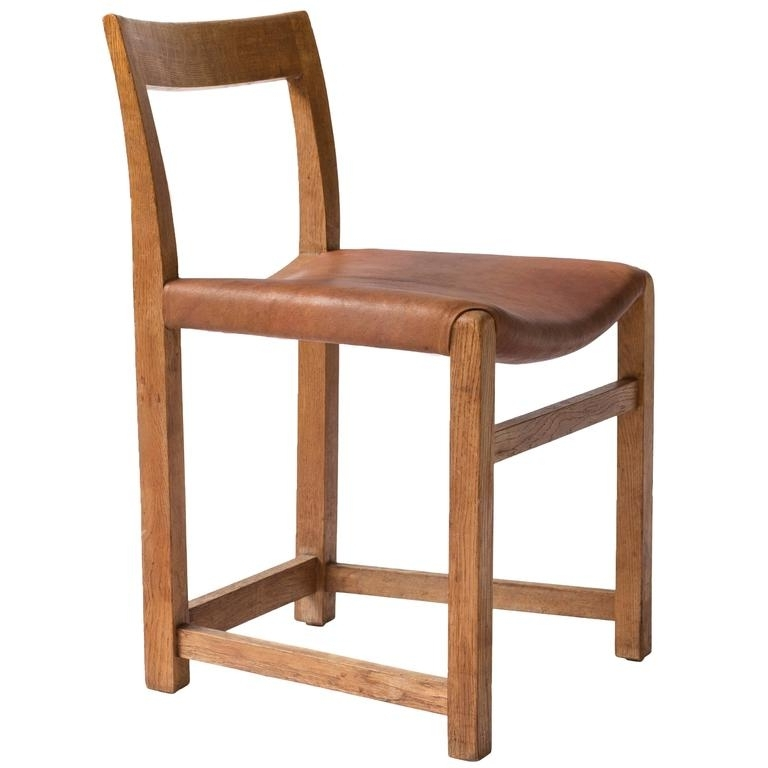 Rare Mogens Lassen Oak Side Chair, 1934 At 1stdibs In Newest Lassen Side Chairs (View 10 of 20)