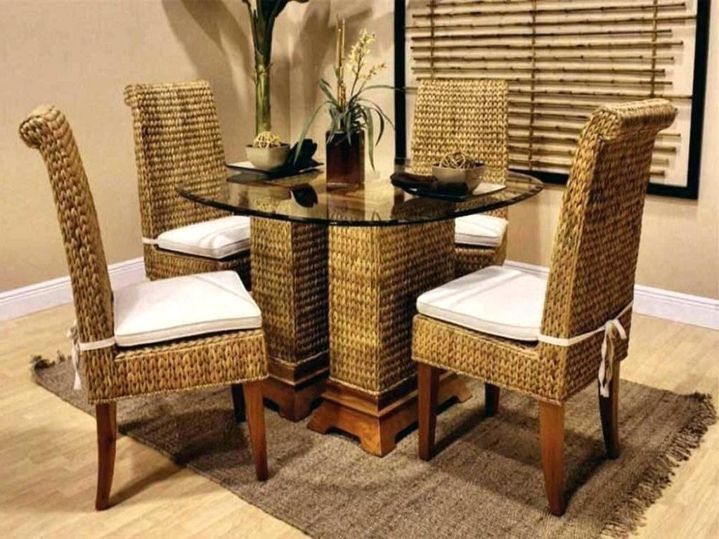 Rattan Dining Tables Regarding Preferred Rattan Dining Table Rattan Dining Table A Chair Set Rattan Dining (Gallery 15 of 20)