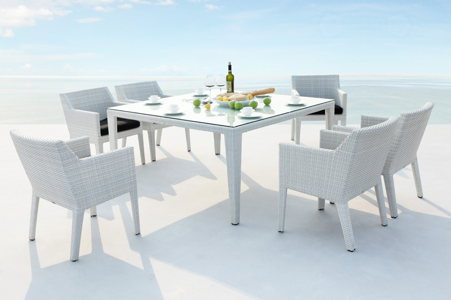 Rattan Tables And Chairs (View 5 of 20)
