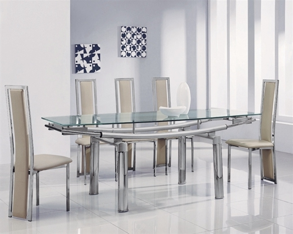 Recent 3 Steps To Pick The Ultimate Dining Table And 6 Chairs Set – Blogbeen In Black Glass Dining Tables With 6 Chairs (View 18 of 20)