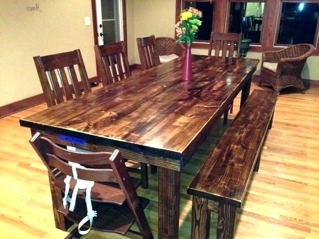 Recent 8 Ft Dining Tables 8 Foot Dining Table 8 Foot Farm Table Excellent With Farm Dining Tables (View 14 of 20)