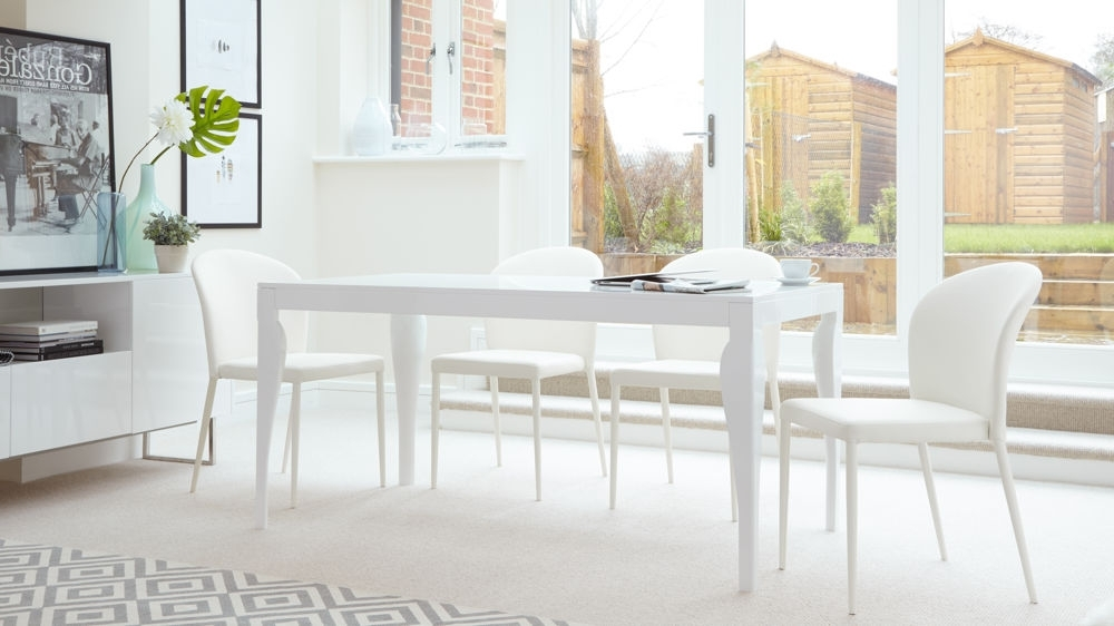 Recent 8 Seater White Dining Tables With Modern 6 Seater Dining Table (View 17 of 20)