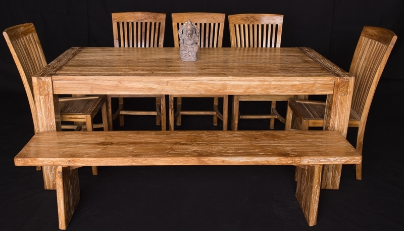 Recent Bali Teak Furniture Portland Quality Wood Indoor Dining Tables In Bali Dining Sets (View 16 of 20)