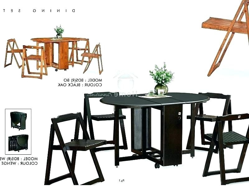 Recent Black Folding Dining Tables And Chairs For Wood Folding Dining Chairs Wood Dining Room Chairs Classic (View 19 of 20)