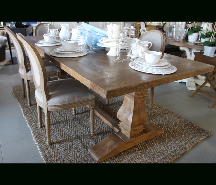 Recent Bordeaux Dining Tables For Bordeaux 200Cm Dining Table  French Villa (View 19 of 20)