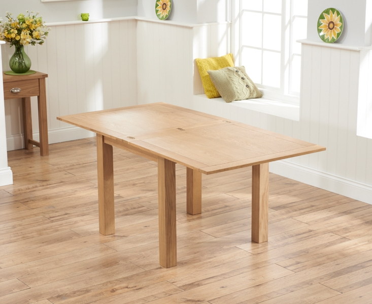 Recent Buy Mark Harris Sandringham Solid Oak Square Flip Top Extending Pertaining To Flip Top Oak Dining Tables (View 13 of 20)