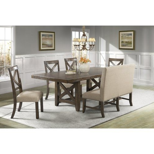 Recent Candice Ii 7 Piece Extension Rectangular Dining Sets With Uph Side Chairs Intended For 16 Best Shelbi Images On Pinterest (View 6 of 20)