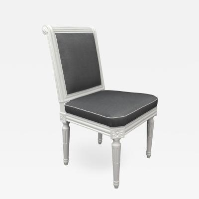 Recent Cole Ii Black Side Chairs Intended For Frederick Victoria – The Cole Porter Model Louis Xvi Style Side Chair (View 17 of 20)