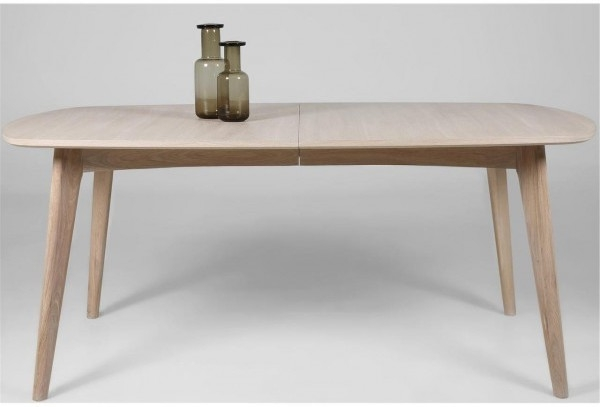 Recent Contemporary Extending Dining Tables Within Marte Modern Extending Dining Table Oak (View 4 of 20)