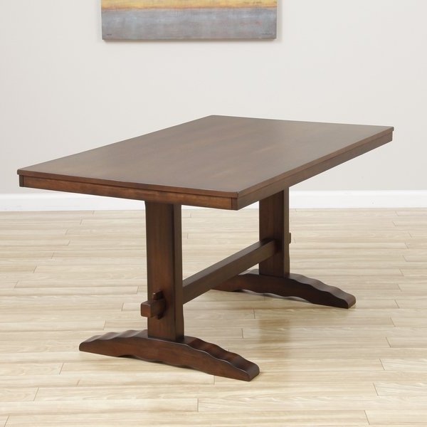 Recent Cooper Dining Tables With Regard To Shop Cooper Dining Table In Deep Chocolate – Free Shipping Today (View 15 of 20)
