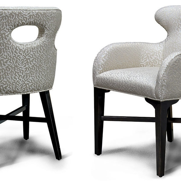 Recent Dining Chairs – 4245 Dca – Delfina Dining Arm Chair : Charter Throughout Delfina Side Chairs (View 3 of 20)