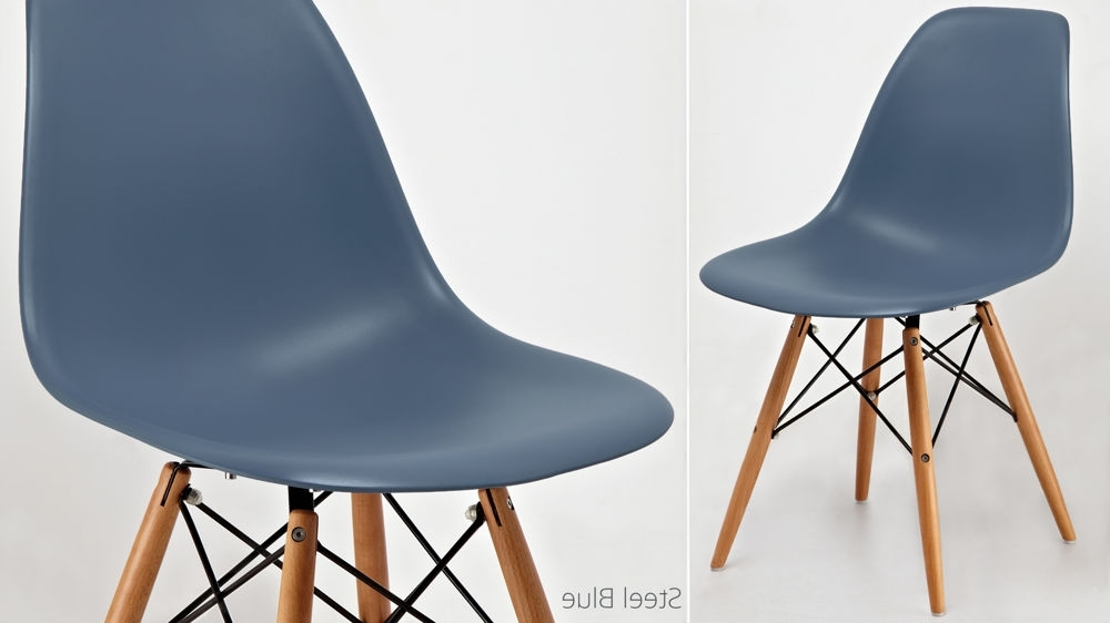 Recent Dining Chairs With Blue Loose Seat With Eames Dining Chair High Quality Uk Fast Delivery (View 15 of 20)