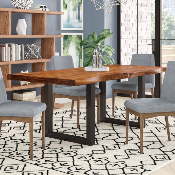 Recent Dining Tables With Brayden Studio Linde Dining Table & Reviews (View 15 of 20)