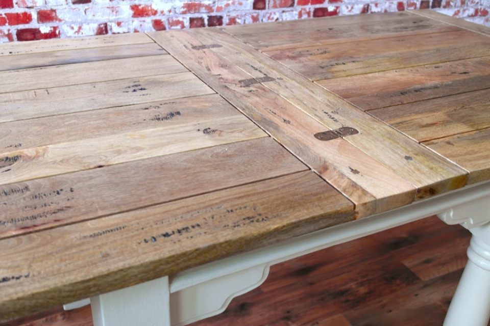 Recent Drop Leaf Extendable Dining Tables In Extending Rustic Folding Dining Table Drop Leaf Space Saving Extendable (Gallery 4 of 20)