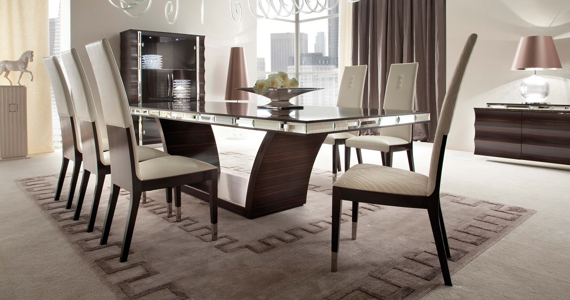 Recent Exclusiveandreotti Presents Giorgio Collection Luxury Kitchen Throughout Dining Tables And Chairs (View 17 of 20)