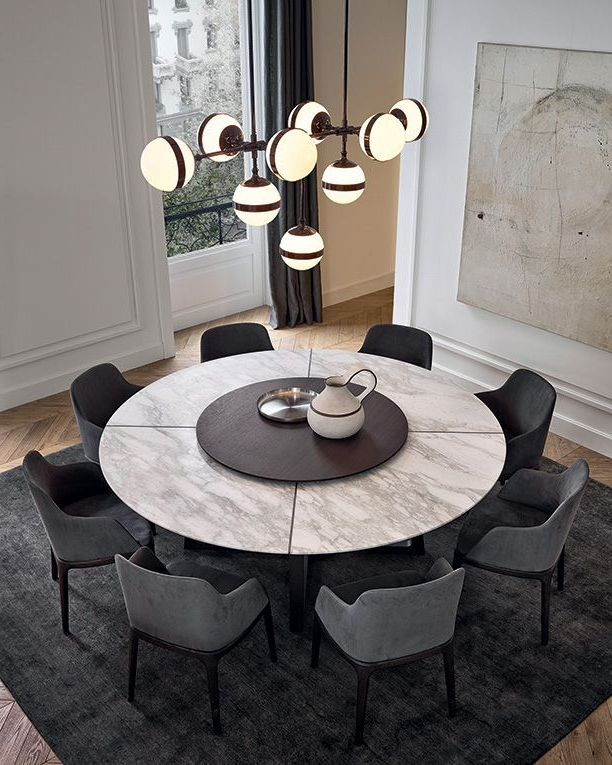 Recent Lassen Round Dining Tables Throughout 5 Reasons Why You Want This Dining Room Designnadya Zotova (View 13 of 20)