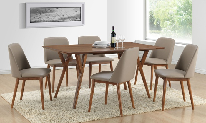 Recent Lavin Dining Table With 6 Chairs (View 3 of 20)