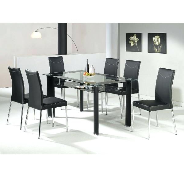 Recent Lazio Dining Tables For Lazio Dining Table Glass 4 Chairs Noir – Alpenduathlon (View 17 of 20)