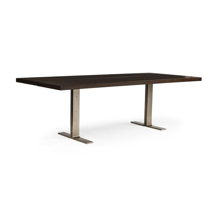 Recent Lily Metal Base Dining Table Regarding Jaxon Grey Round Extension Dining Tables (View 19 of 20)