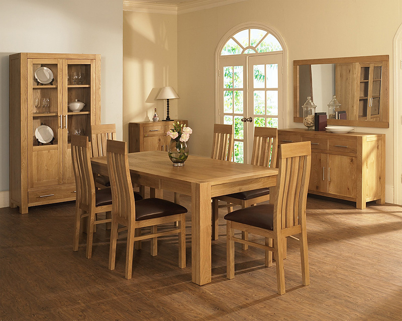 Recent Oak Dining Tables And Chairs Within Oak Dining Room Tables And Chairs – Dining Table Furniture Design (Gallery 17 of 20)
