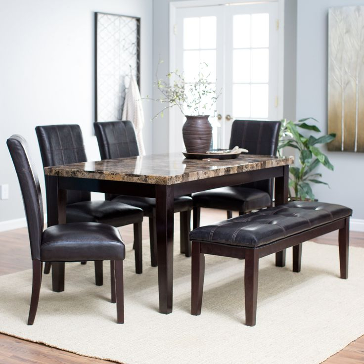 Recent Palazzo 6 Piece Rectangle Dining Sets With Joss Side Chairs Throughout 39 Best Dining Room Images On Pinterest (View 6 of 20)