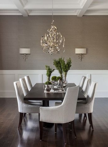 Recent Palazzo 7 Piece Dining Sets With Pearson Grey Side Chairs Within Palazzo 7 Piece Rectangle Dining Set With Joss Side Chairs (View 4 of 20)