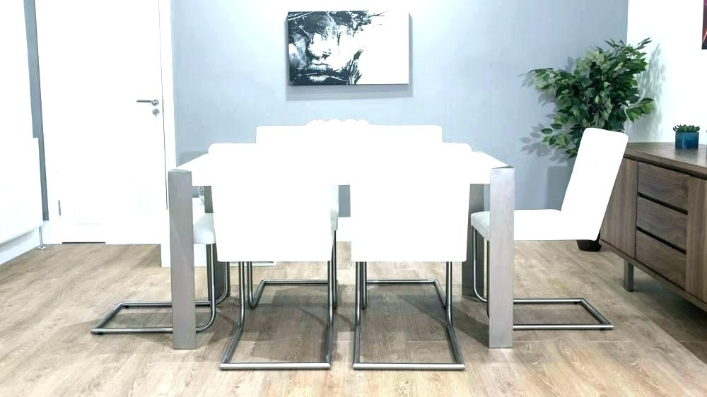 Recent Parquet Dining Chairs Inside White Leather Dining Chairs For Sale White Dining Chairs White (View 16 of 20)