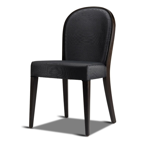 Recent Perla Dark Side Chair – From Ultimate Contract Uk Regarding Perla Side Chairs (View 3 of 20)
