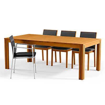 Recent Rectangular Extending Dining Table Sm 24skovby (View 12 of 20)