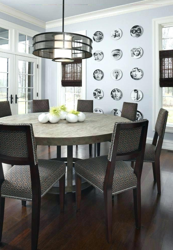 Recent Round 6 Person Dining Tables With Round Dining Table For 6 8 Person Dining Room Tables 8 Person Dining (Gallery 4 of 20)