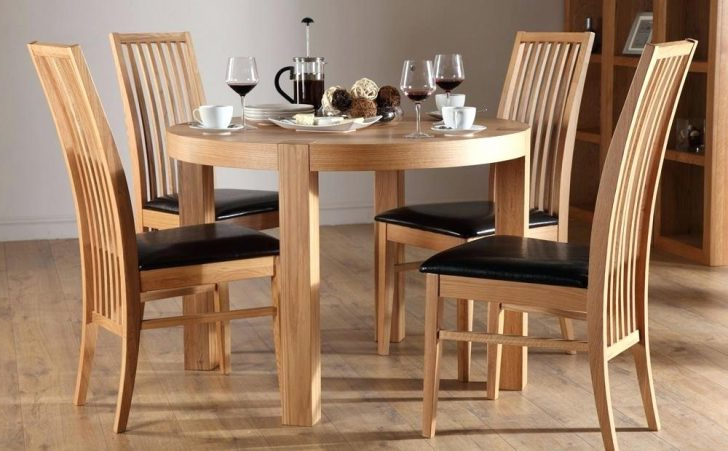 Recent Round Oak Dining Tables And 4 Chairs With Scenic Round Oak Dining Table And 4 Chairs Limed Brown Extending (View 14 of 20)