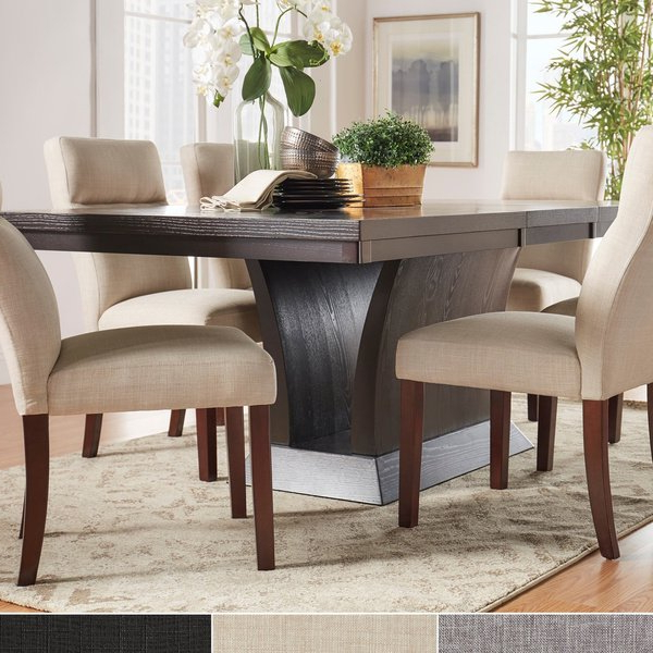 Recent Shop Charles Espresso Contemporary Dining Setinspire Q Modern In Craftsman 7 Piece Rectangle Extension Dining Sets With Side Chairs (View 19 of 20)