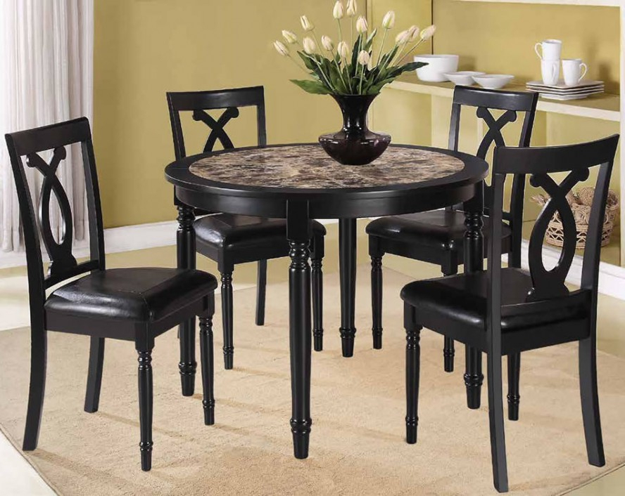 Recent Small Dark Wood Dining Tables Regarding Dining Room Small Dining Table Designs Kitchen Dining Sets For Small (View 13 of 20)