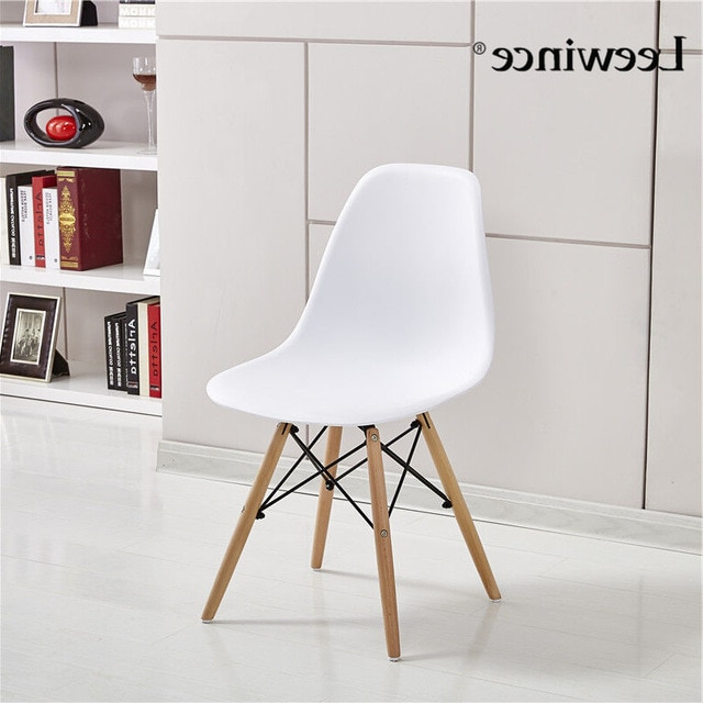 Recent Stylish Dining Chairs Regarding Leewince Fashion Dining Chairs Simple Plastic Creative Leisure (View 9 of 20)