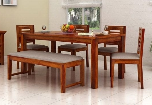 Recent Top 6 Seater Dining Table Online Six Seater Dining Table Set India Regarding 6 Seater Dining Tables (View 18 of 20)