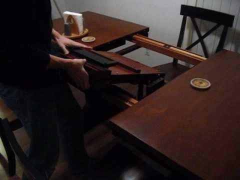 Recent Winnersonly Butterfly Leaf Table – Youtube Intended For Pelennor Extension Dining Tables (Gallery 13 of 20)