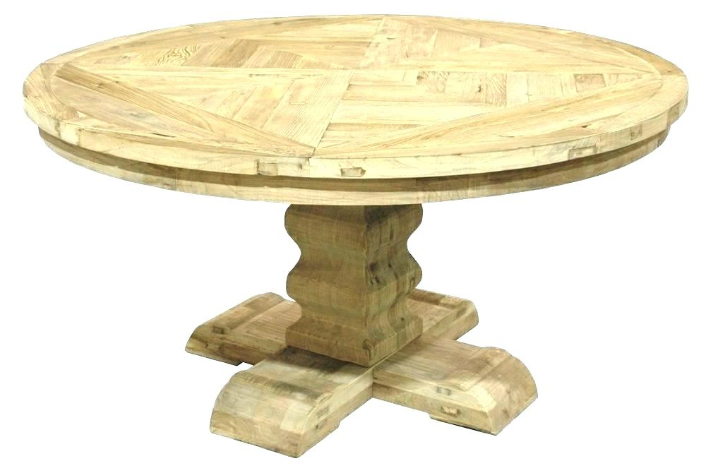 Reclaimed Wood Oval Dining Table Light Wood Round Dining Table Light Regarding Most Recently Released Oval Reclaimed Wood Dining Tables (View 12 of 20)