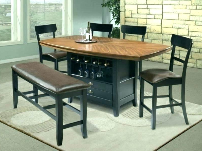 Rectangle Kitchen Table With Bench Outdoor Sienna Dining Table With With Most Current Outdoor Sienna Dining Tables (View 18 of 20)